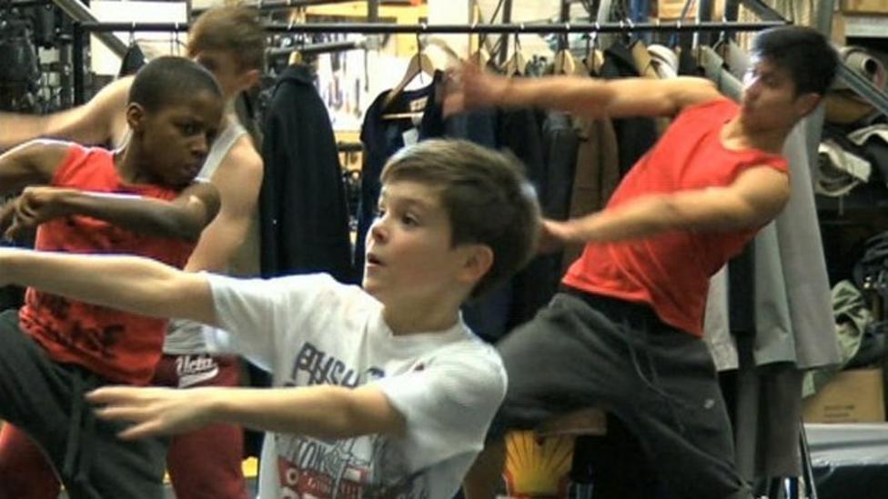 School boys star in top dance show
