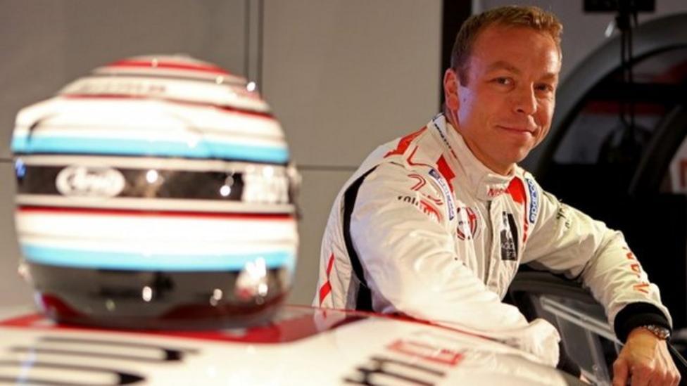 Sir Chris Hoy turns motor racer
