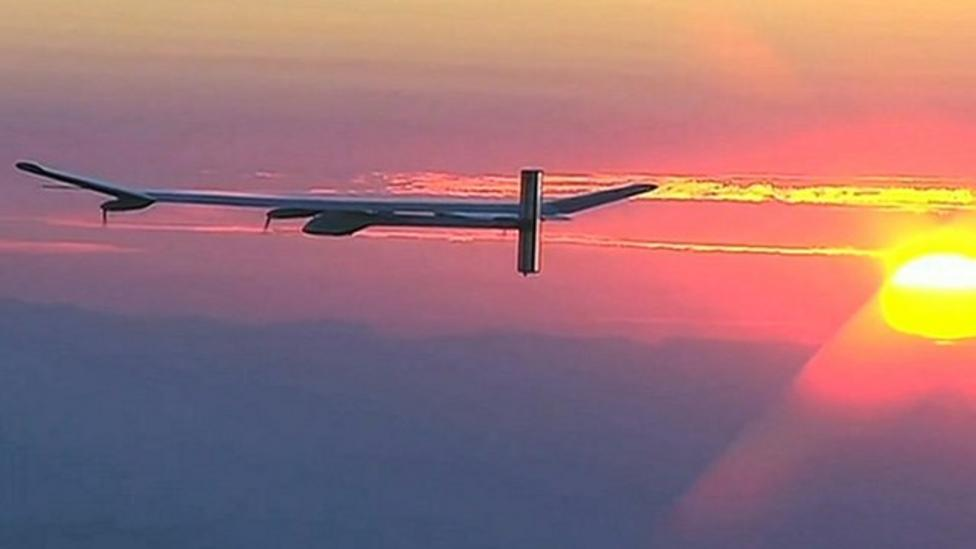Solar plane aims to fly the world