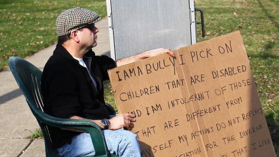 Watch: Unusual punishment for US 'bully'