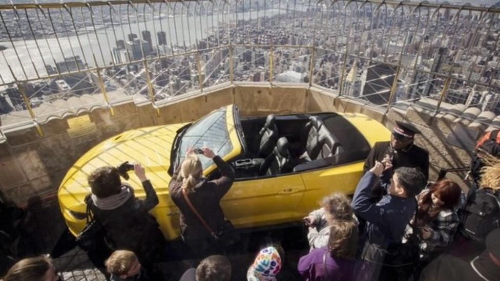 How to get a car up a skycraper