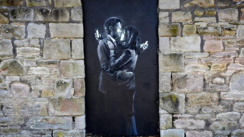 The mystery of new Banksy art