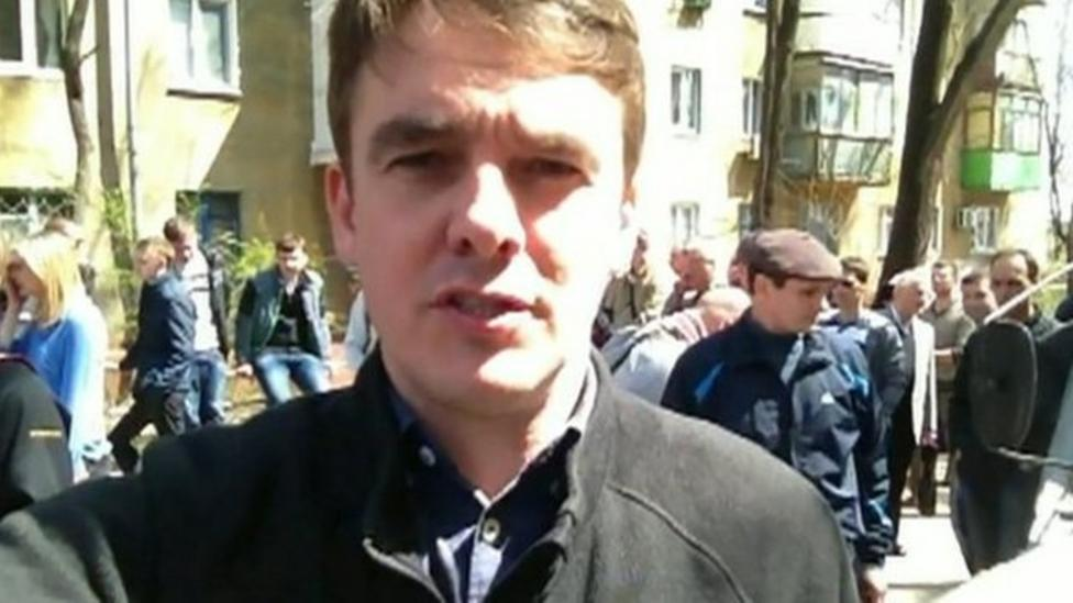 Life reporting in Ukraine