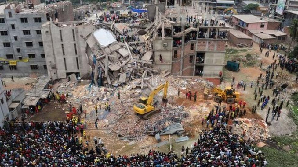 Protests year after factory collapse