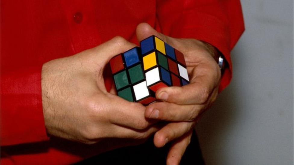 Rubik's Cube invented 40 years ago