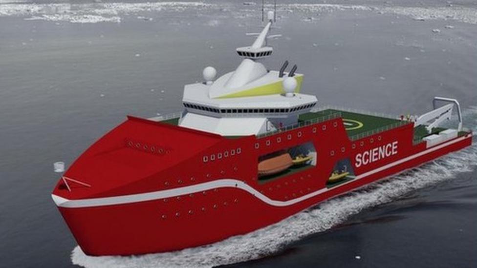 UK science to get £200m polar ship