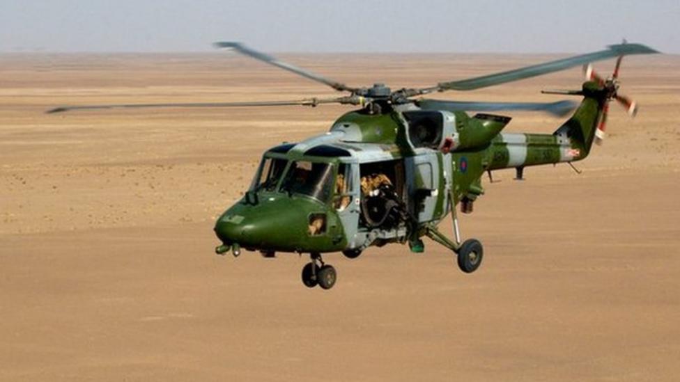 Watch: Five die in Afghan helicopter crash