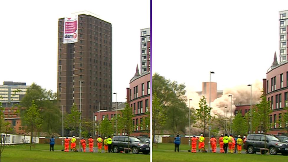 How to demolish a tower block