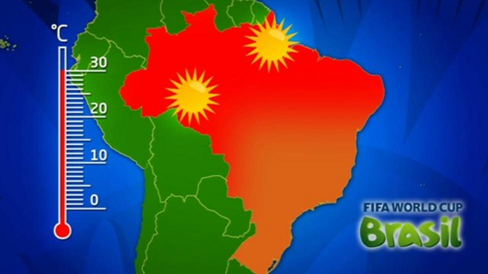 Weather 'too hot' for World Cup matches