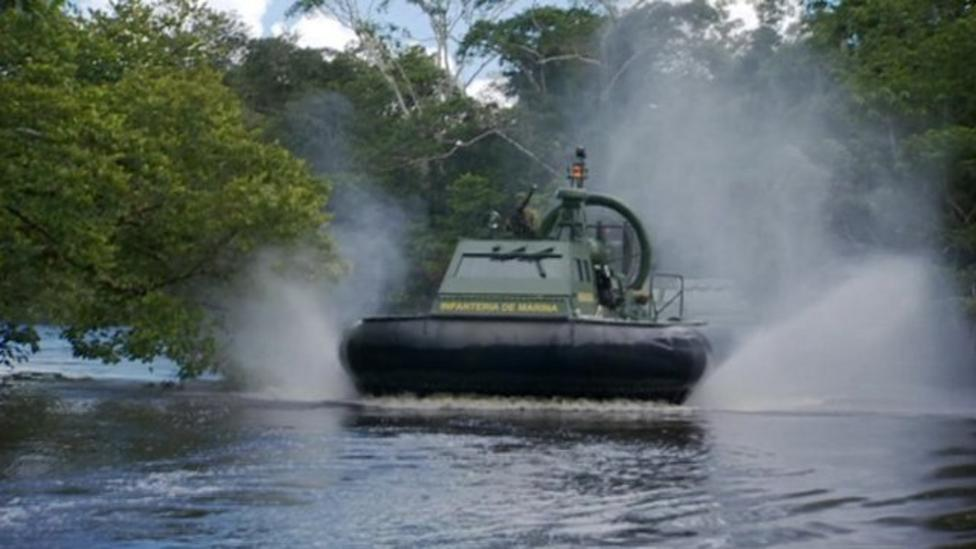 Hovercrafts in fight against drugs