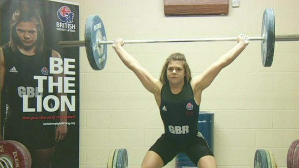Is this the UK's strongest teenager?