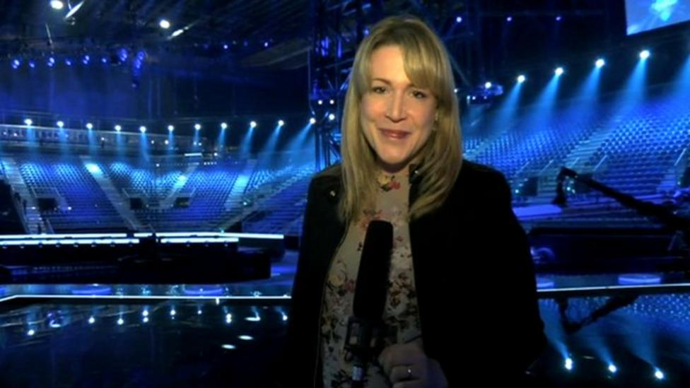 Eurovision preview from Denmark arena