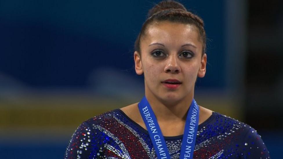 Downie wins Euro gymnastics gold