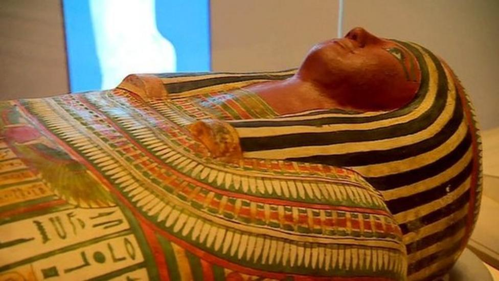 Egyptian mummies 'brought to life'