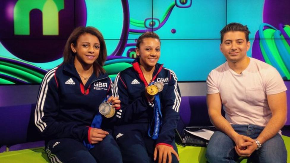 Becky and Ellie Downie chat to Newsround