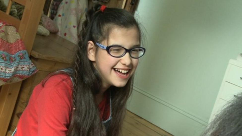 Deaf girl prepares to have special implants