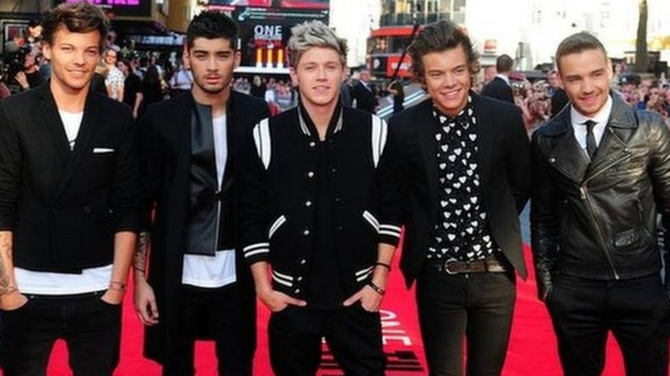One Direction's tour hits the UK