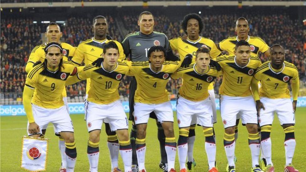 3ac88c1593b Fifa World Cup 2014  Colombia team profile - BBC Sport