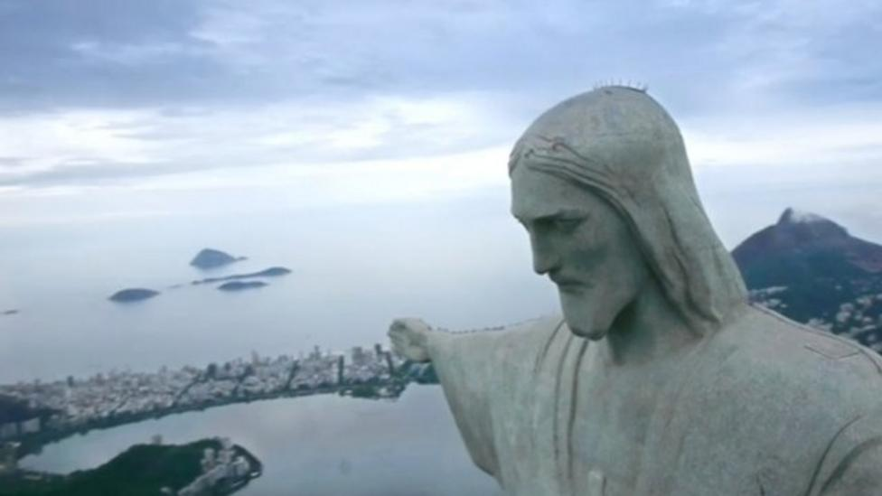 Amazing aerial video of Brazil