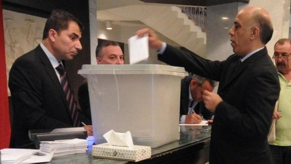 Syria holds presidential election