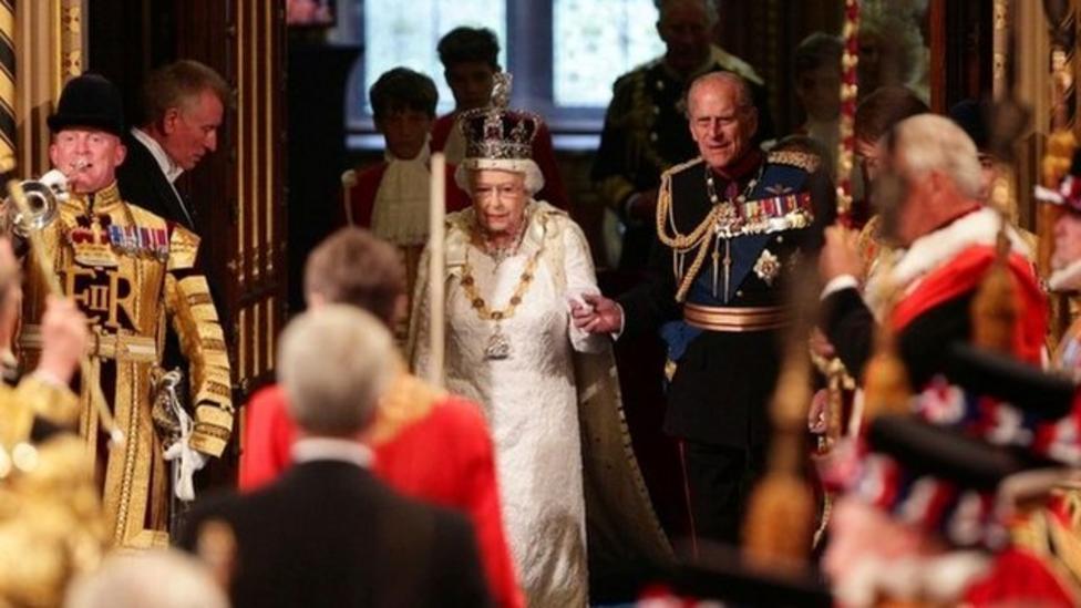 Queen's Speech at opening of Parliament