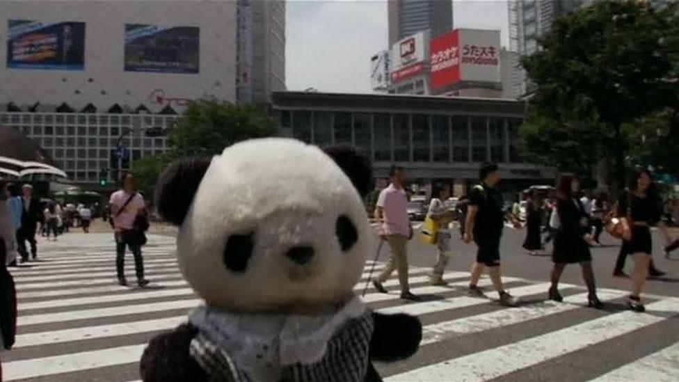 Tokyo takes soft toys on tour