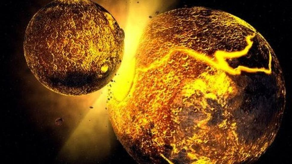 Scientists find traces of Moon's birth