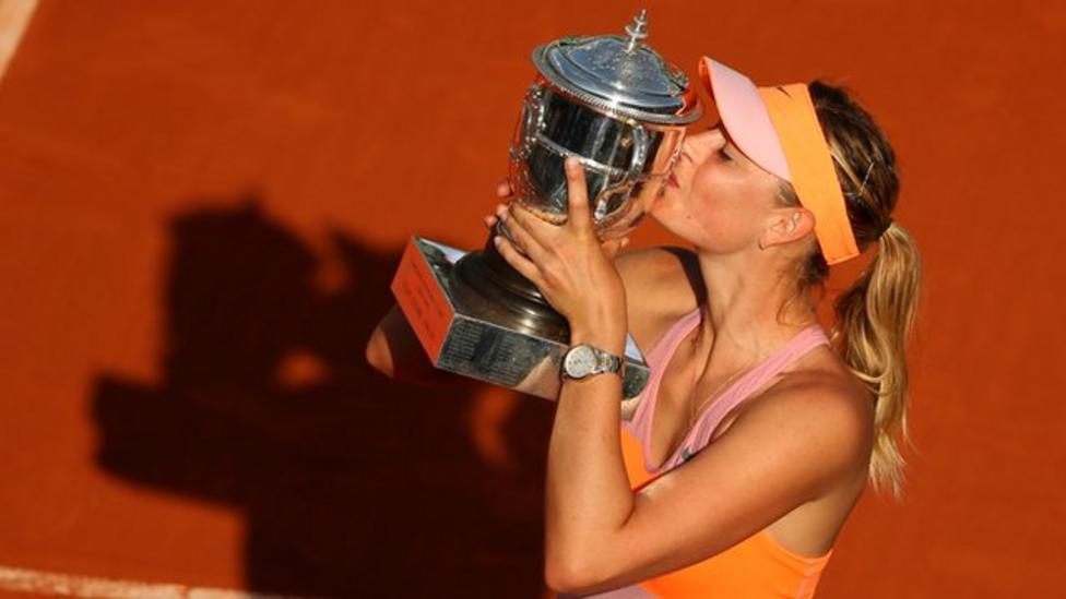 Sharapova on 'most emotional victory'