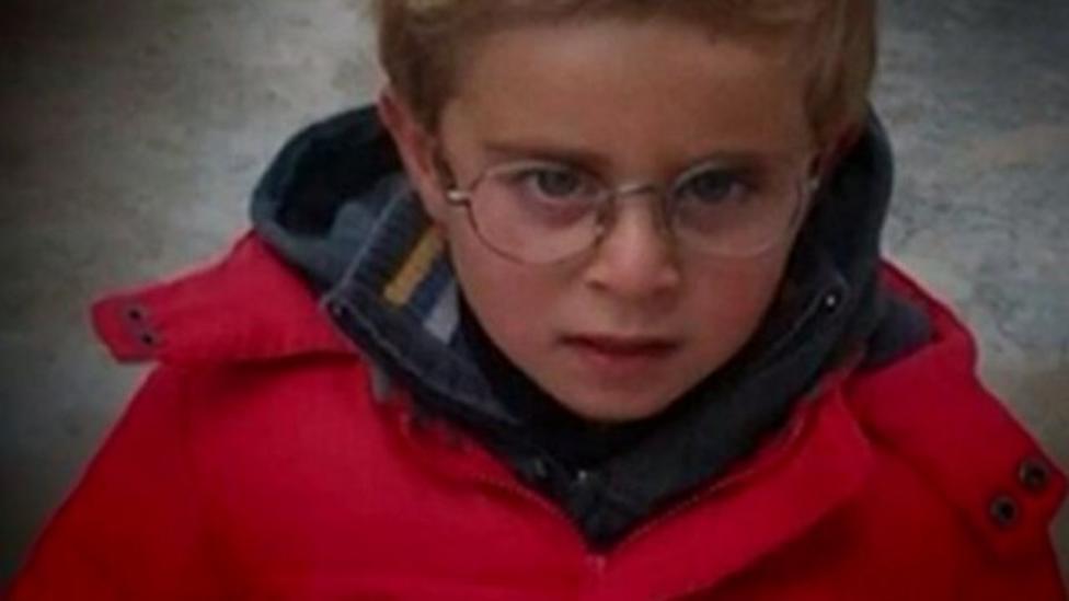 British boy escaped war in Syria