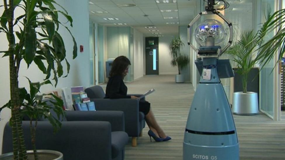 Meet Bob, the robot security guard
