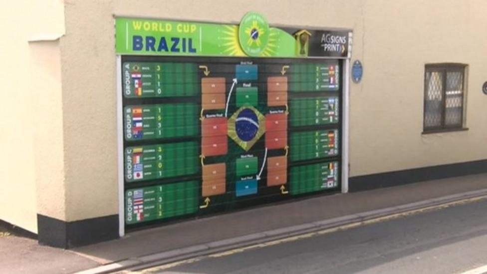 bbc world cup wall chart