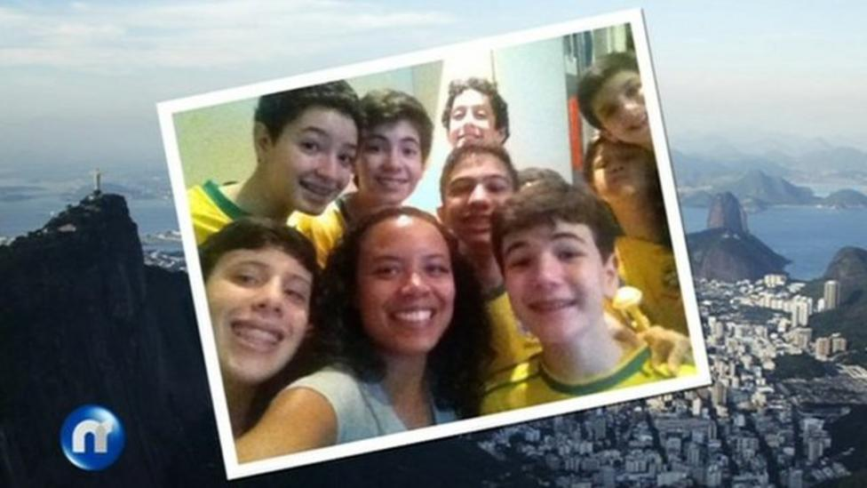 Newsround - live from Brazil