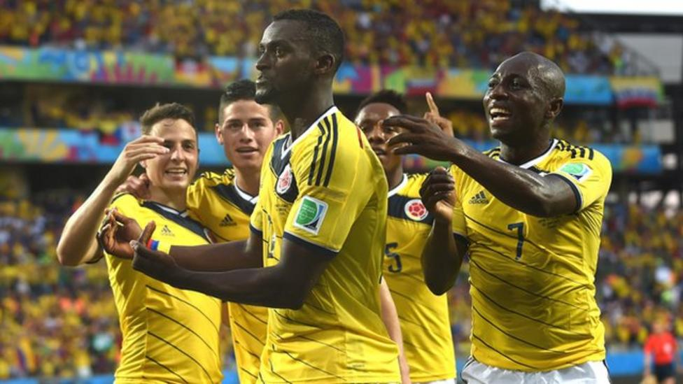 World Cup 2014  Japan 1-4 Colombia highlights - BBC Sport fea7ca1f7