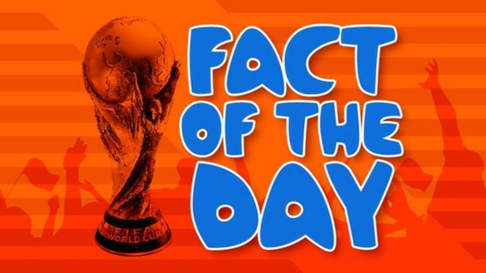 Today's World Cup fact