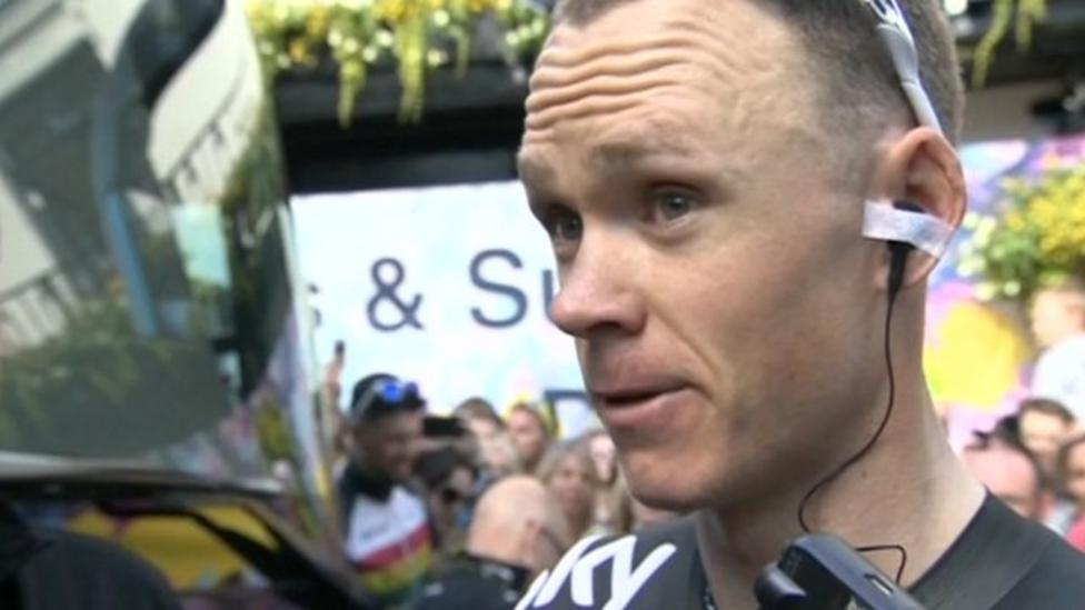 Froome expects 'tough' day two of Tour