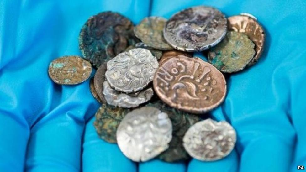 Cave coins found after 2,000 years