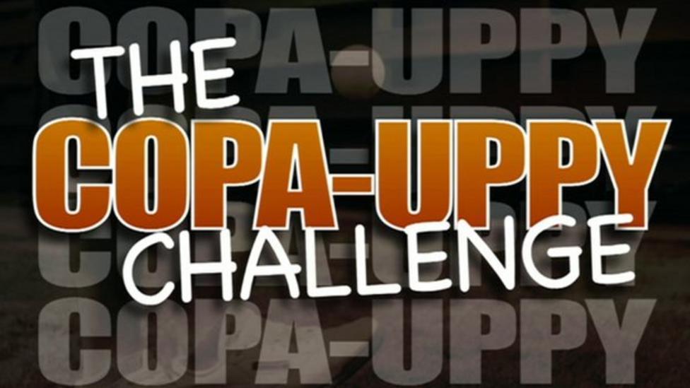 Celebs show epic keepy-up skills