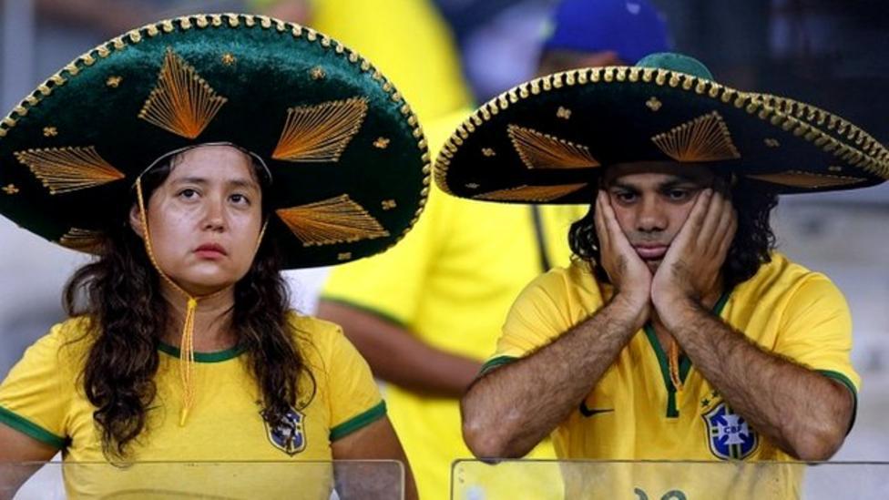 Germany thrash Brazil 7-1