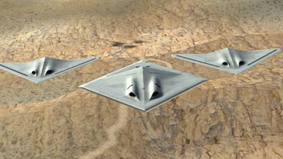 Futuristic plane designs revealed