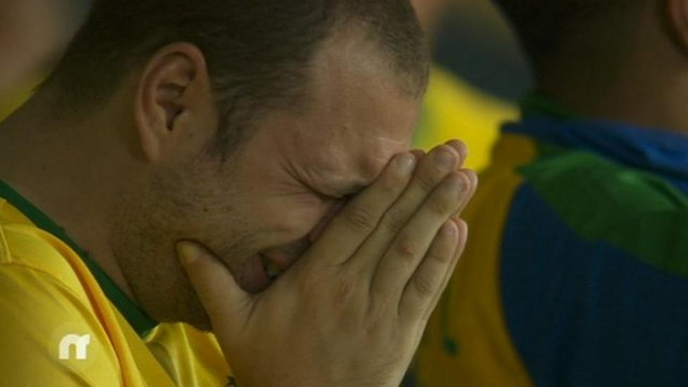 Brazil's 7-1 defeat against Germany