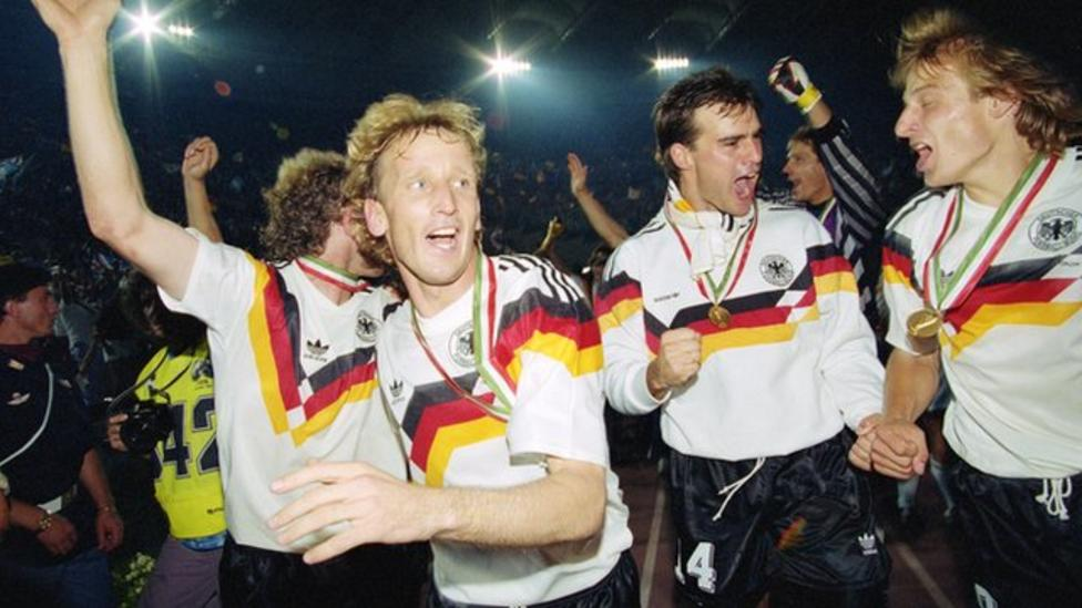 highlights west germany beat argentina to win 1990 world cup bbc
