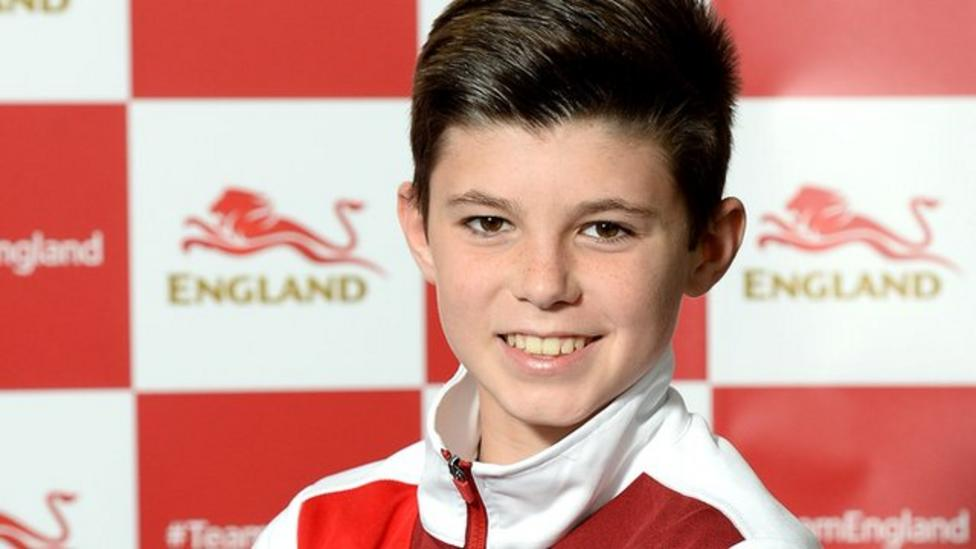 Diver Matthew excited for Games