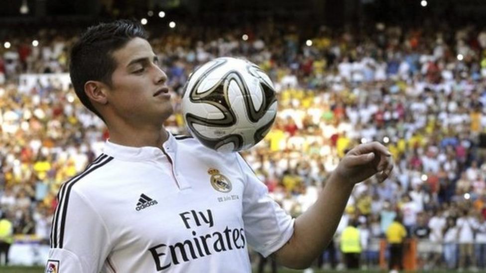 Real Madrid sign James Rodriguez
