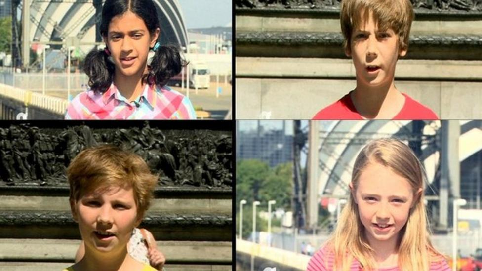 Glasgow kids tell us about their city