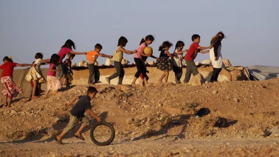 Syrian children, life in a war zone