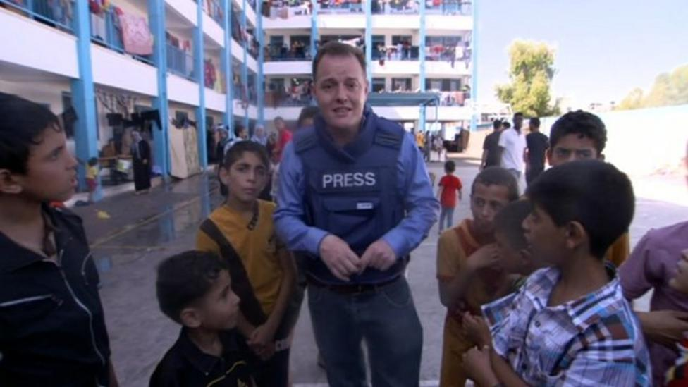Martin Patience reports from Gaza about children there