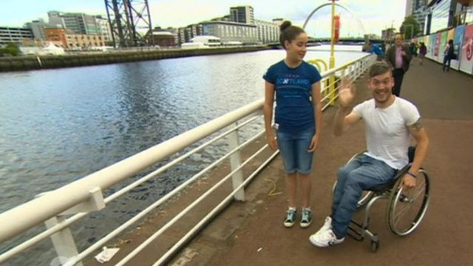 Explore Glasgow with Martin and Beth