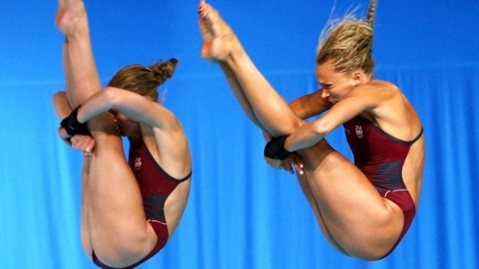 England pipped to diving gold medal