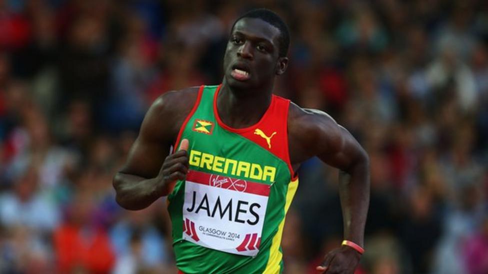 Kirani James wins gold in 400m
