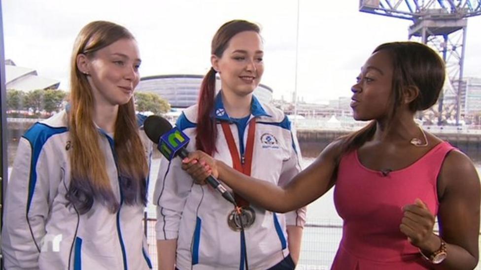 Scottish shooting sisters talk to Ayshah